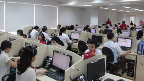 Trung tâm chăm sóc khách hàng hiện đại Call Center